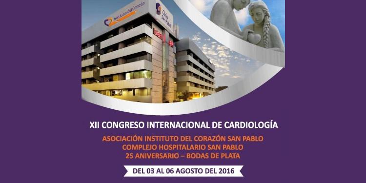 XII CONGRESO INTERNACIONAL DE CARDIOLOGÍA