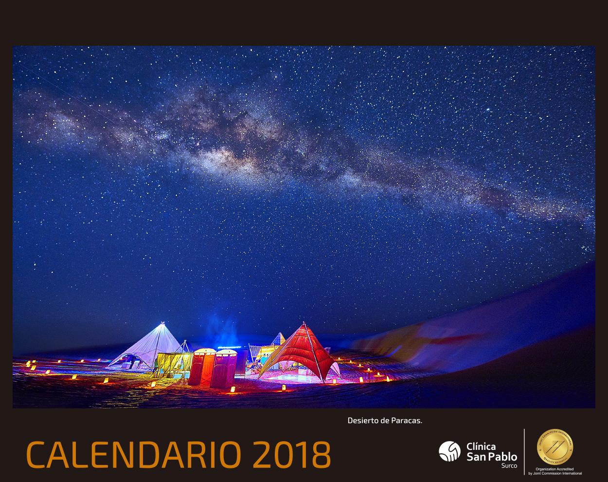 Calendario San Pablo 2018