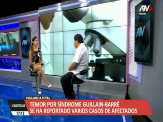Entrevista al especialista de la Clínica San Pablo, Jorge Gómez, sobre el síndrome de Guillain-Barré