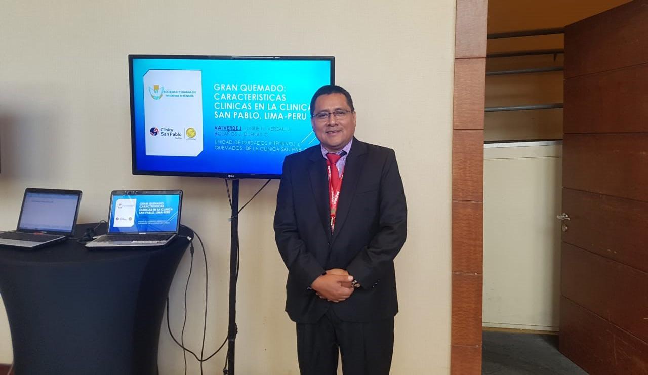 Médicos de San Pablo presentes en importante Congreso de Medicina Intensiva y Urgencia