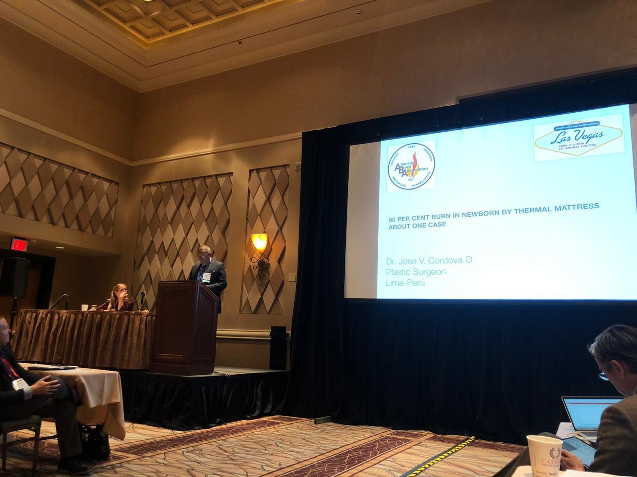 Grupo San Pablo presente en Congreso Internacional de la Sociedad Americana de Quemados