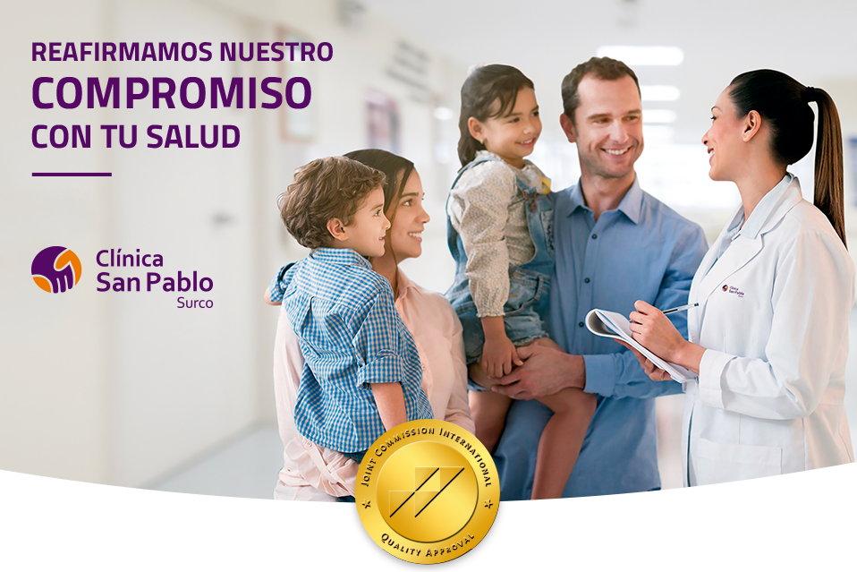 Clínica San Pablo vuelve a recibir máxima acreditación internacional